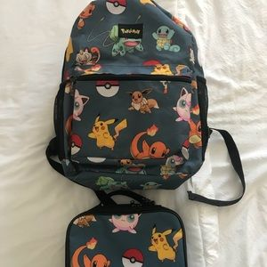 Other - Pokémon backpack and lunch bag set  🎒